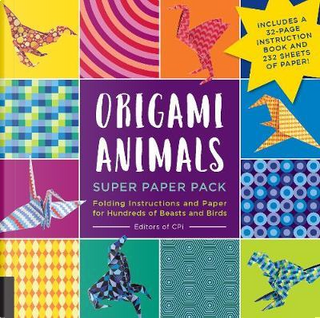 Origami Animals Super Paper Pack by Creative Publishing international