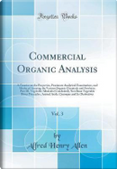 Commercial Organic Analysis, Vol. 3 by Alfred Henry Allen