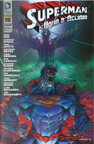 Superman l'Uomo d'Acciaio n. 15 by Charles Soule, Greg Pak, Paul Levitz