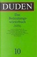 Duden Bedeutungsworterbuch by Inc Distribooks