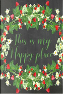 Chalkboard Journal - This Is My Happy Place, Sage by Marissa Kent