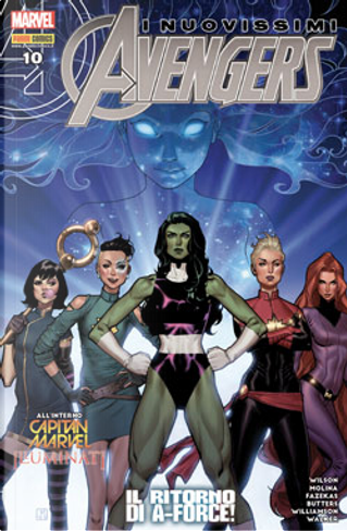 Avengers n. 59 by G. Willow Wilson, Greg Weisman, Joshua Williamson, Michele Fazekas, Tara Butters