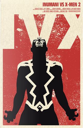Inumani vs. X-Men #2 - Variant by Charles Soule, Jeff Lemire