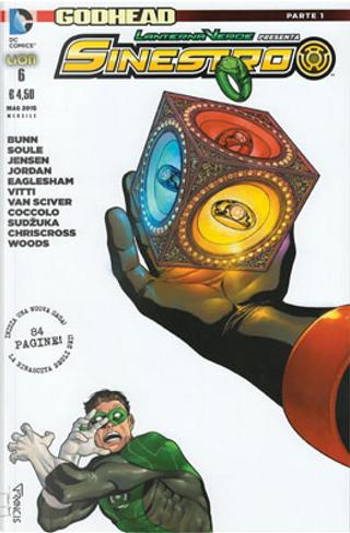 Lanterna Verde presenta: Sinestro n. 6 by Charles Soule, Cullen Bunn, Justin Jordan, Robert Venditti, Van Jensen
