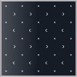 Moon & Stars Velvet Cloth by Lo Scarabeo