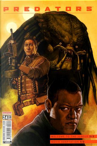 Predator #24 by Marc Andreyko, Paul Tobin