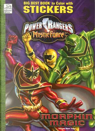 Power Rangers Mystick Force Morphin Magic by Dalmatian Press