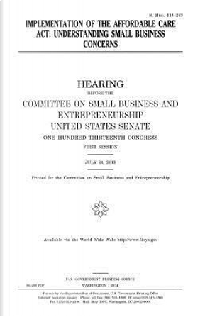 Implementation of the Affordable Care Act by United States Congress