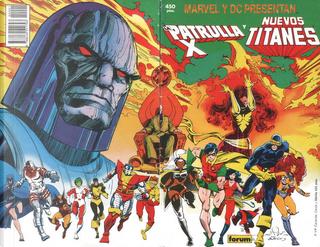 La Patrulla-X y los Nuevos Titanes: Apokolips Now by Terry Austin, Walter Simonson, Chris Claremont