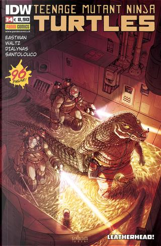 Teenage Mutant Ninja Turtles n. 34 by Bobby Curnow, Kevin Eastman, Tom Waltz