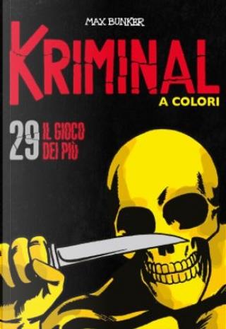 Kriminal a colori - Vol. 29 by Max Bunker