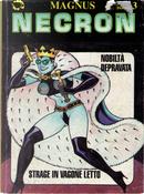 Necron - Nobiltà depravata - Strage in vagone letto by Ilaria Volpe, Magnus