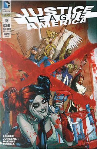 Justice League America n. 18 - Variant Harley Quinn by Dan Jurgens, Jeff Lemire