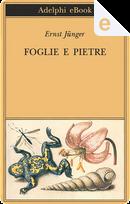 Foglie e pietre by Ernst Jünger