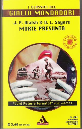 Morte presunta by Dorothy L. Sayers, Jill Paton Walsh