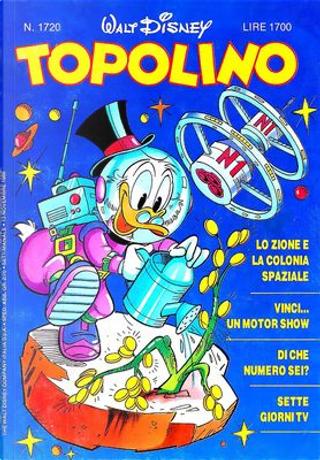 Topolino n. 1720 by Alessandro Sisti, Bob Gregory, Giorgio Pezzin, Guido Scala, Ivan Saidenberg