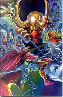 Thor #7 All New Marvel Now! - Variant Anniversario by Al Ewing, Jason Aaron, Russell Dauterman