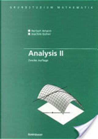 Analysis II by Herbert Amann