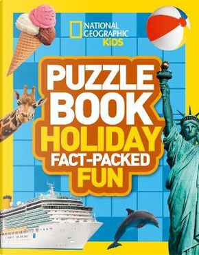 Puzzle Book Holiday by National Geographic Kids