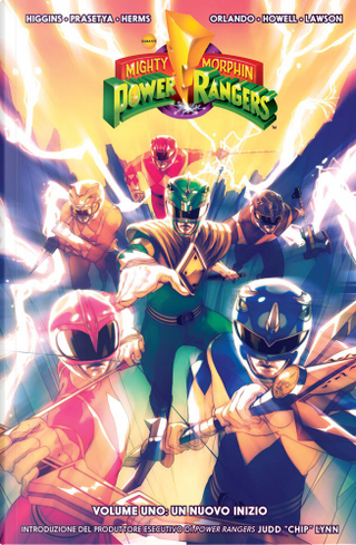 Mighty Morphin Power Rangers vol. 1 by Kyle Higgins, Steve Orlando