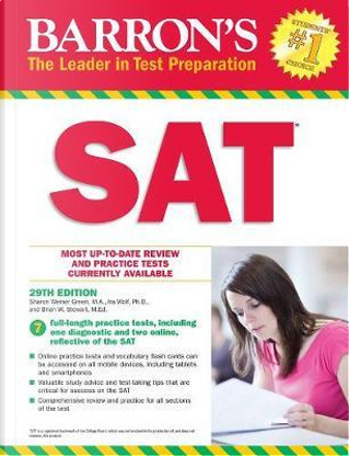 SAT 29th edition by Barron's