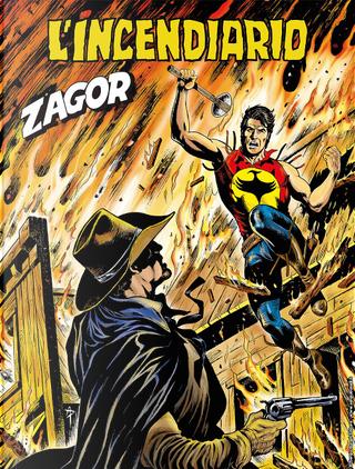 Zagor n. 651 (Zenith n. 702) by Mirko Perniola