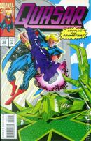 Quasar Vol.1 #52 by Mark Gruenwald