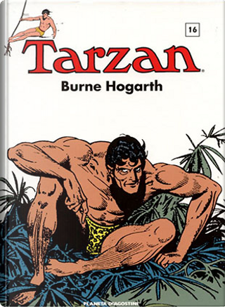 Tarzan (1947-1948) vol. 16 by Burne Hogarth
