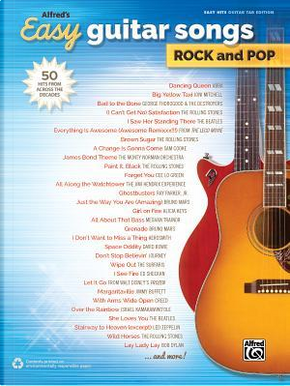 Alfred's Easy Guitar Songs Rock and Pop by Alfred Music