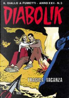 Diabolik anno XXII n. 3 by Angela Giussani, Luciana Giussani