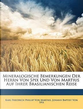 Mineralogische Bemerkungen Der Herrn Von Spix Und Von Martius Auf Ihrer Brasilianischen Reise by Johann Baptist Von Spix
