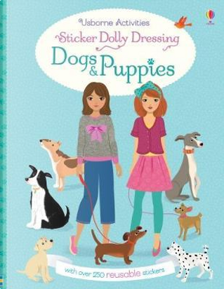 Sticker Dolly Dressing Dogs and Puppies by FIONA WATT