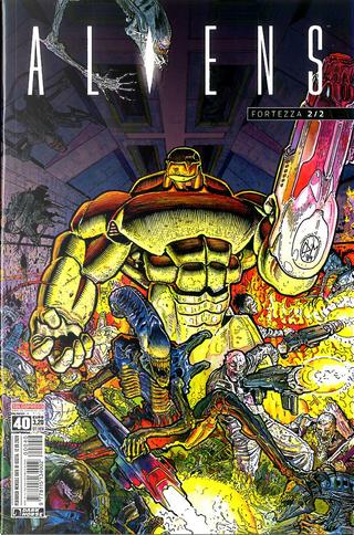 Aliens #40 by John Arcudi