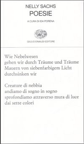 Poesie by Nelly Sachs