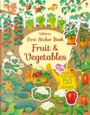 First Sticker Book Fruit and Vegetables (First Sticker Books) by Hannah Watson