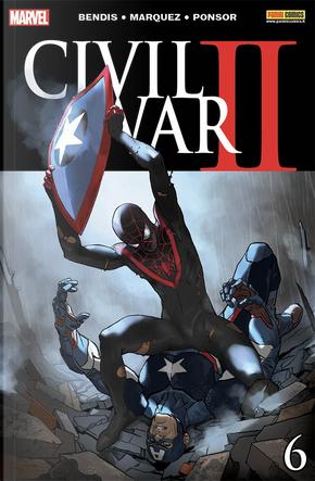 Civil War II #6 by Brian Michael Bendis, Elliott Casey, Todd Casey