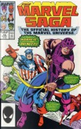 Marvel Saga by Peter Sanderson