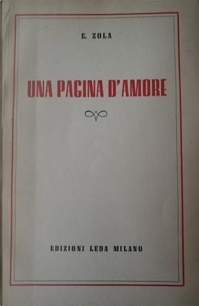 Una pagina d'amore by Émile Zola