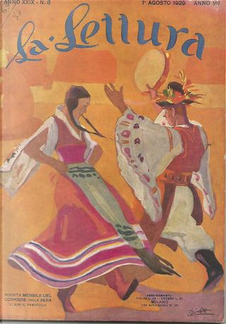 La lettura, anno XXIX, n. 8, agosto 1929