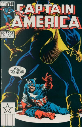 Captain America Vol.1 #296 by J. Marc DeMatteis