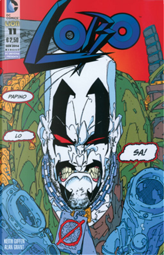 Lobo n. 11 by Keith Giffen, Alan Grant