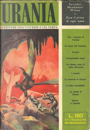 Urania n. 1 by F. L. Wallace, Fritz Leiber, Murray Leinster, Philip Latham, Richard Matheson, Roger Dee