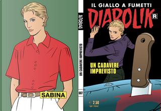 """Diabolik """"R"""" n. 687 by Patricia Martinelli, Tito Faraci"""