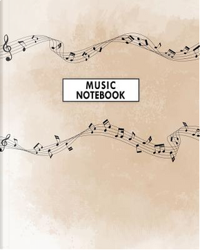 Music Notebook by Jane's Stationery