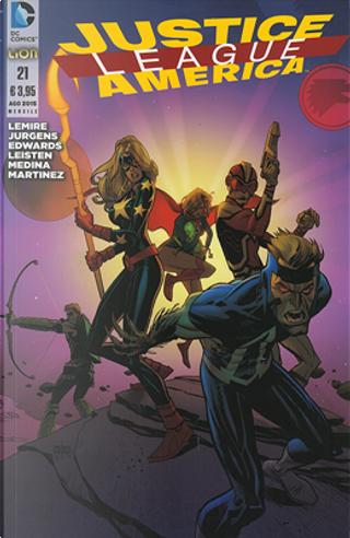 Justice League America n. 21 by Dan Jurgens, Jeff Lemire
