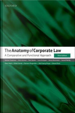 The Anatomy of Corporate Law by Reinier Kraakman