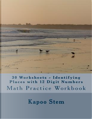 Identifying Places With 12 Digit Numbers - 30 Worksheets by Kapoo Stem
