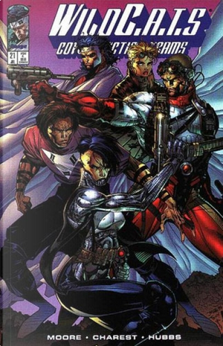 WildC.A.T.s 21, July 1995 by Alan Moore