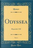 Odyssea, Vol. 1 by Homer Homer