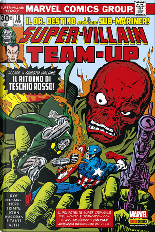 Super-Villain Team-up by